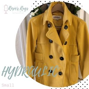 Hydraulic Yellow Pea Coat